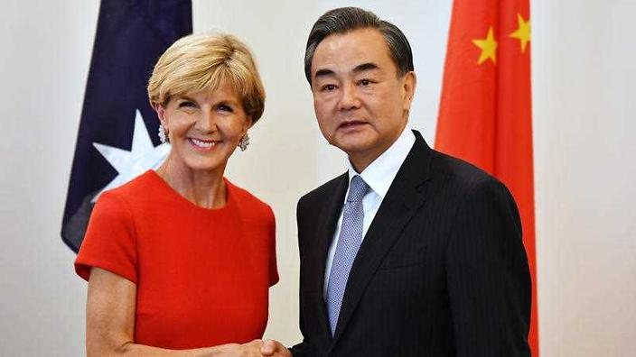 Australia's relationship with China 'could not be stronger', Bishop says