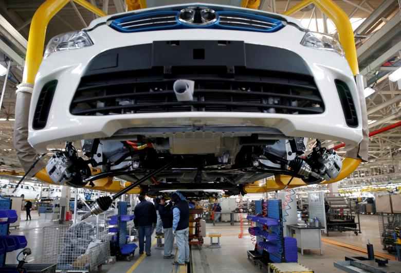 Automakers charge ahead with electrics in China, even as policy drive slows
